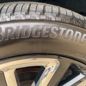 Set Of 4 Tires & Brand New Chevy Bulk/chrome 22s for Sale in Capitol Heights, MD
