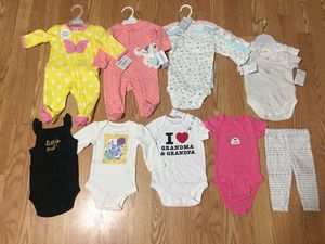 New 3 month baby girl clothes for Sale in Chicago, IL