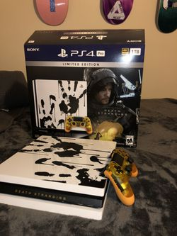 PS4 Pro Death Stranding Limited Addition for Sale in Elmont,  NY