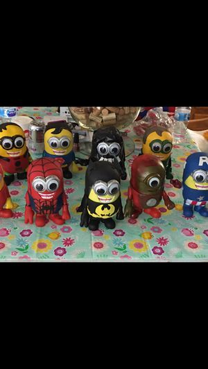 Minion Action figure collectibles (24) $50 for all for Sale in Owasco, NY