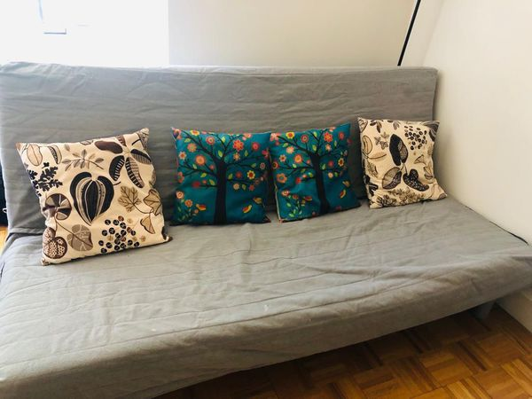 Free: Set of two futons - memory foam in good condition. Comes with pillows