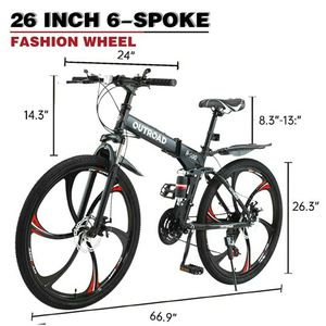 """New Outroad 26"""""""" Inch Foldable Mountain Bike MTE for Sale in Miami, FL"""