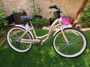 Rose gold cruiser bike 26 for Sale in Las Vegas, NV