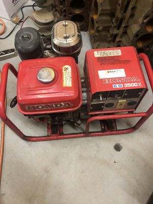 Honda 3500 generator for Sale in Neosho, MO