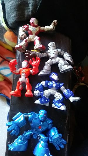Iron man tiny toys for Sale in Garden Grove, CA