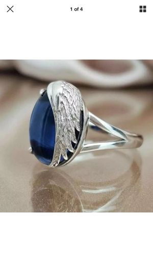 Angel sapphire ring for Sale in Front Royal, VA