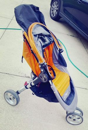 $65 - Baby Jogger City Mini single stroller. Used with one child. I still have the manual. From a ns pet-friendly home in Macedonia. for Sale in Northfield, OH