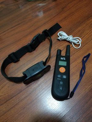 Dog training collar trainer no barking w/ remote shock sound vibrate for Sale in Long Beach, CA