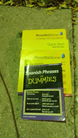 Rosetta stone language-learning software for Sale in Pflugerville,  TX