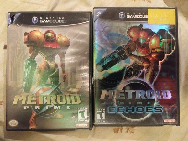 Nintendo Gamecube Metroid Prime 1 & 2