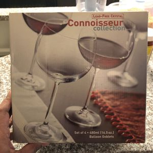 Lead Free Crystal Balloon Goblets for Sale in Westerville, OH