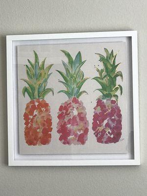 Pineapple-themed Framed Decor for Sale in Henderson, NV