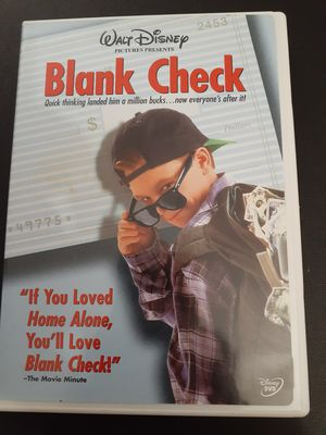 Disney's BLANK CHECK (DVD) for Sale in Lewisville, TX