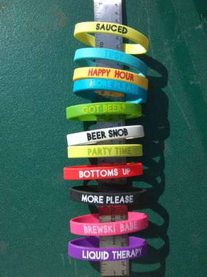 Silicone Alcohol Wrist Bands for Sale in Snohomish, WA