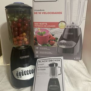 Glass Black& Decker 550 Watts Blender Glass for Sale in Fountain Valley, CA