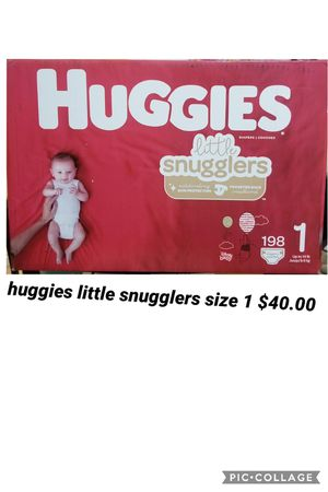 huggies little snugglers size 1 for Sale in Los Angeles, CA