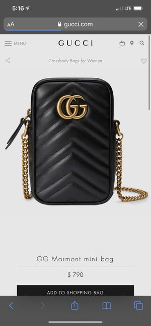 Gucci Mini Bag for Sale in Puyallup, WA