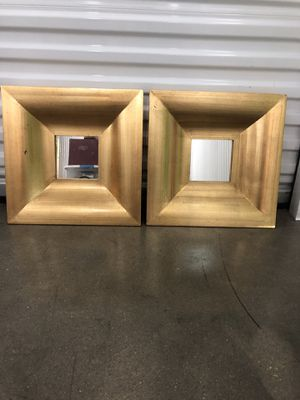 Gold wall mirrors for Sale in Dallas, TX