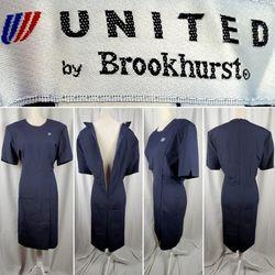 Vintage United Airlines Flight Attendant Dress Uniform 16P for Sale in Ocala,  FL