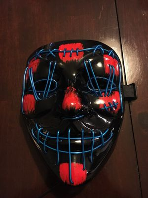 LED Halloween mask for Sale in Frisco, TX