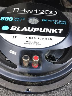 """12"""" Shallow Bluapunkt for Sale in Garland,  TX"""