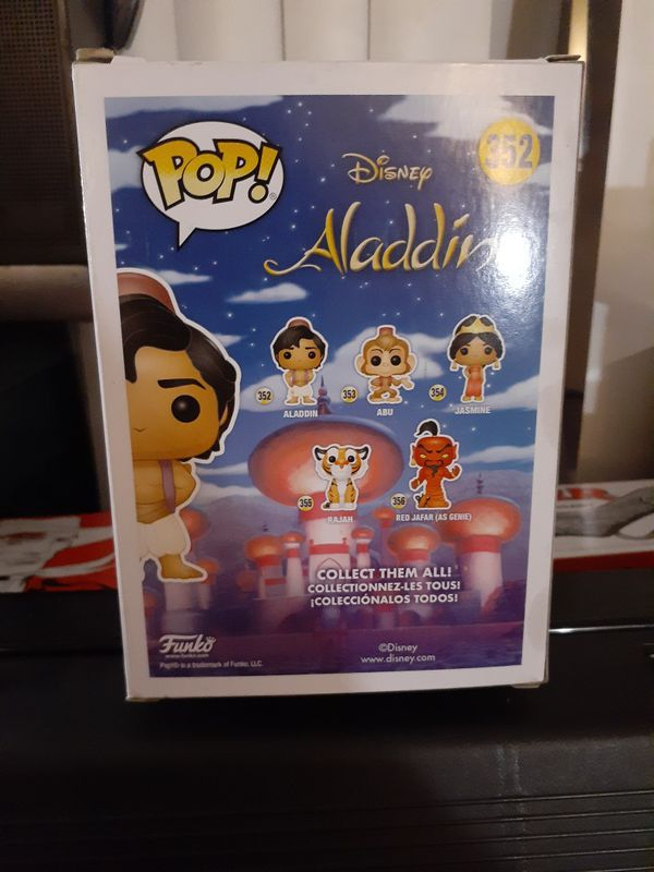 Aladdin Funko Pop Figure