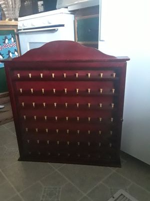Golf Ball Display Rack Holds 63 Balls in good condition Asking 35. for Sale in Princeton, TX
