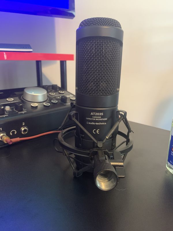 Audio-Technica AT2035 Mic 🎙 Bundle