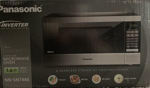 Panasonic 1.6cu ft. 1250W Stainless Steel Microwave for Sale in Las Vegas, NV