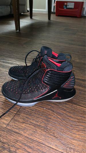 Nike Air Jordan 32 mj banned shoes black size 5 for Sale in San Antonio, TX