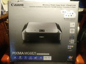 Canon Pixma MG6821 for Sale in Hattiesburg, MS