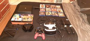 Playstation 4 pro 1tb ps vr and arcade stick for Sale in Hialeah, FL