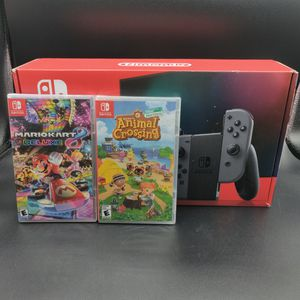 New Nintendo Switch Console Plus 2 New Games for Sale in Houston, TX