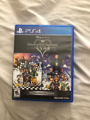 Kingdom Hearts 1.5+2.5 HD Ps4 for Sale in Valrico, FL