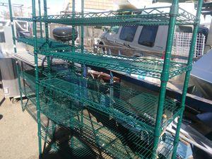Shelves. Shelves metal stainless for Sale in Phoenix, AZ