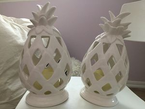 Decor Pineapple candles for Sale in Chatsworth, CA