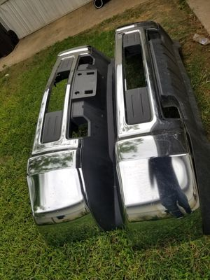 2015-2018 CHEVY SILVERADO FRONT BUMPER 2500-3500 MODEL for Sale in South Houston, TX
