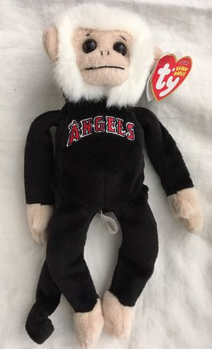 LA anaheim angels baseball RALLY MONKEY TY BEANIE BABY - mint with mint tag for Sale in Tustin, CA