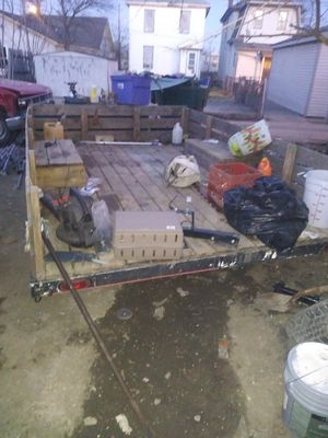 14ft utility trailer for Sale in Columbus, OH