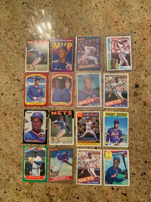 Darryl Strawberry & Dwight Gooden Rookies and MORE! for Sale in Upland, CA