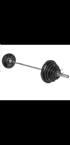 300 lb Olympic weights set for Sale in Bartlett, IL