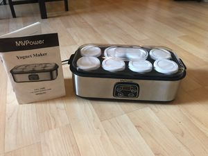8 individual cup Yogurt Maker. New, perfect condition for Sale in Los Angeles, CA