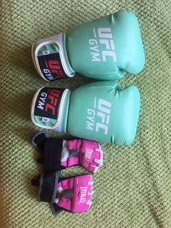 UFC boxing gloves and liners for Sale in Alexandria,  VA