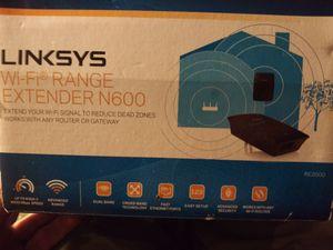 Linksys wifi range extender for Sale in Elkhart, IN
