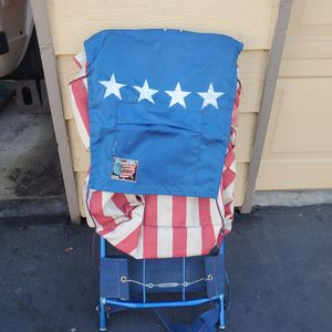 Vintage Stars and Stripes Backpacking Backpack for Sale in Sacramento, CA