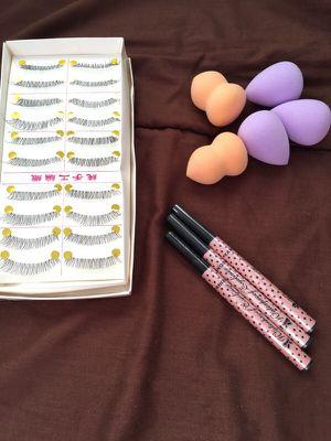 Beauty blender lashes liner for Sale in Stockton, CA