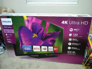 TV 55 inch , new in box, never opened for Sale in Chandler, AZ