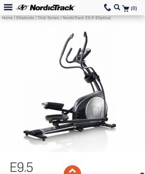Nordic track elliptical machine $700 mint new plastic is still on it for Sale in Staten Island, NY