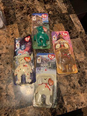Original International Bears McDonalds Collection TY Beanie Babies for Sale in Phoenix, AZ