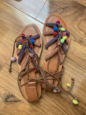 Cute Sandals for End of Summer! for Sale in Las Vegas, NV